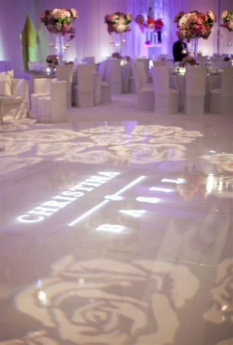 diy wedding reception lighting gobo lighting inspiration monogram lighting a