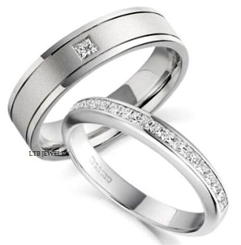 white gold   mens womens wedding bands rings