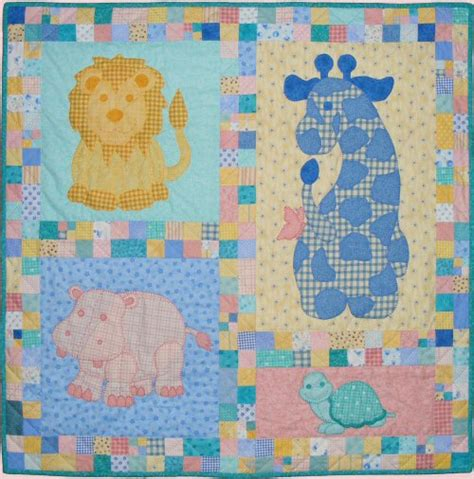 Pattern For Baby Quilt by Free Patterns For Baby Quilts With Baby Animals Images