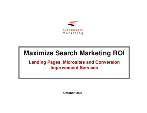 Smart Pages Lookup Smart Search Conversion Improvement Services