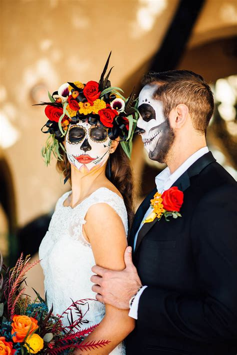 Of The Dead day of the dead wedding ideas bespoke wedding