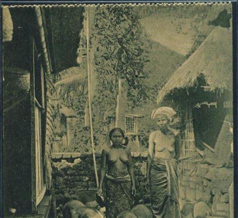 Kartupos Bali 1 koleksi tempo doeloe kartupos kuno indonesia di zaman belanda foto 2 wanita bali yang masih