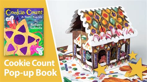 pop up picture books cookie count a tasty pop up book by robert sabuda