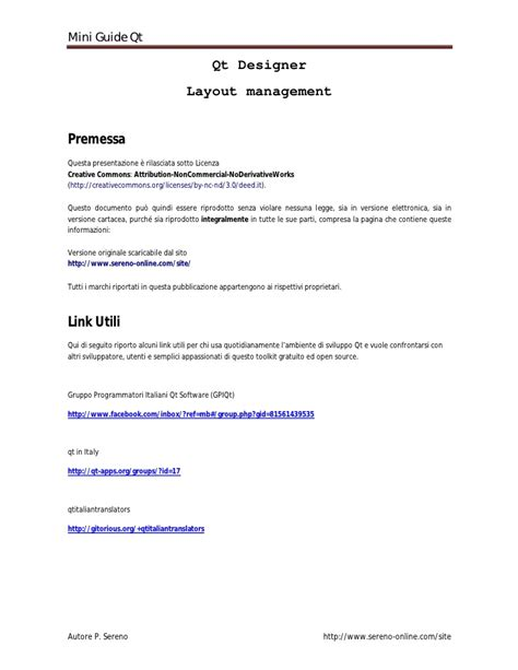 qt layout management qt lezione5 layout management e qt designer
