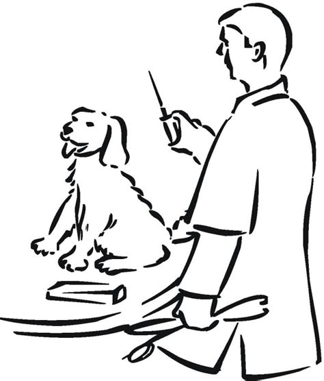 coloring pages veterinarian free coloring pages