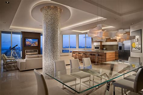 miami beach penthouse beach style living room other breathtaking penthouse by pepe calderin design with