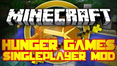 hunger games mod in minecraft minecraft mod showcase singleplayer hunger games mod