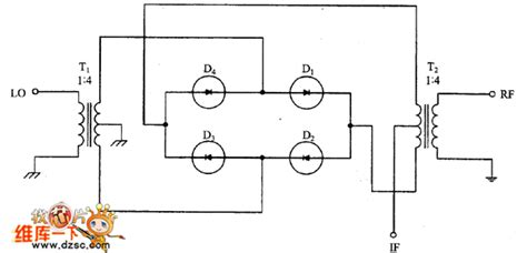 balanced diode mixer schematic balanced diode mixer circuit 555 circuit circuit diagram seekic