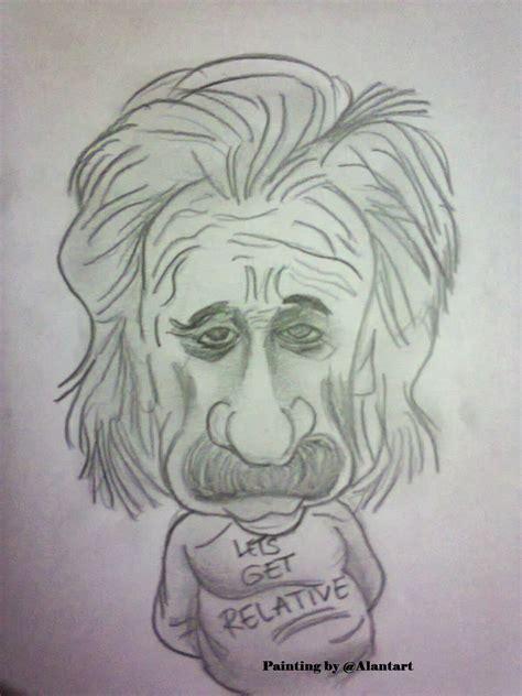 karikatur lukisan pensil alantart
