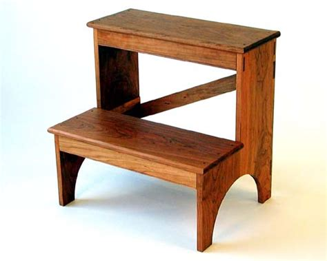 Shaker Stool by Two Step Shaker Stool Chris Harter
