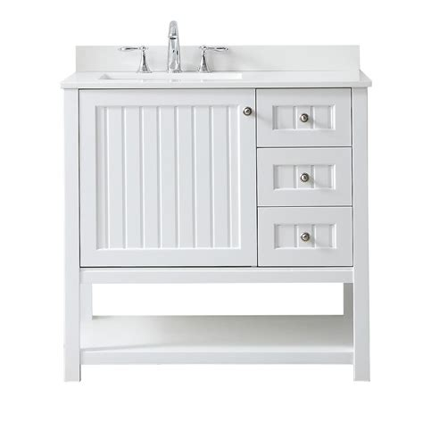 martha stewart bathroom vanities martha stewart living seal harbor 36 in w x 22 in d
