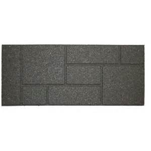 Rubber Stair Treads Home Depot by Envirotile 10 In X 24 In Cobblestone Gray Black Stair