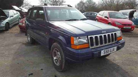 jeep grand cherokee laredo diesel 2 5 turbo r reg 1997 for spares and kia great used cars portal for sale