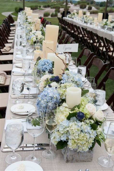 hydrangea wedding centerpieces wedding newsday