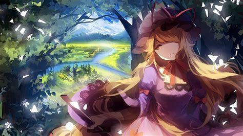 anime animation tornado hearts black sky wallpapers