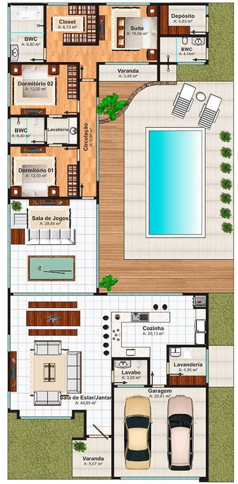 juego de casas plantas de casas 3 quartos 60 modelos e projetos gr 225 tis