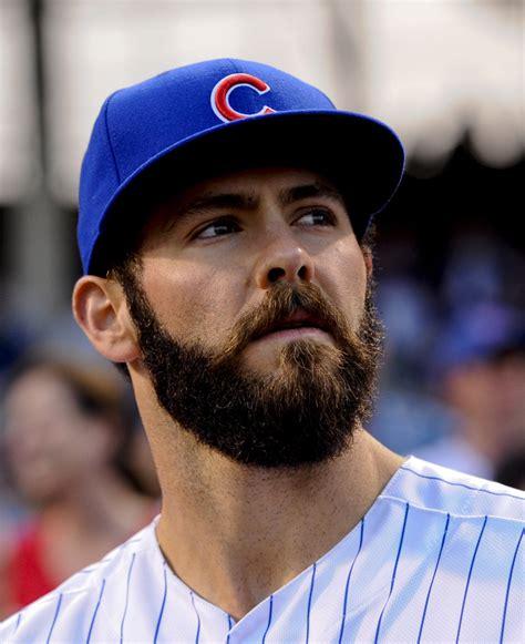 jake arrieta shaved  beard    win