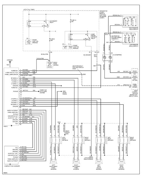 car wiring dodge caravan speaker wiring diagram 88