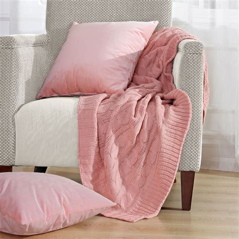 3 throw blanket and throw pillow shell sets