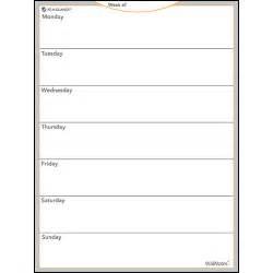 Erase Weekly Calendar Weekly Erase Undated Wall Calendar Calendars