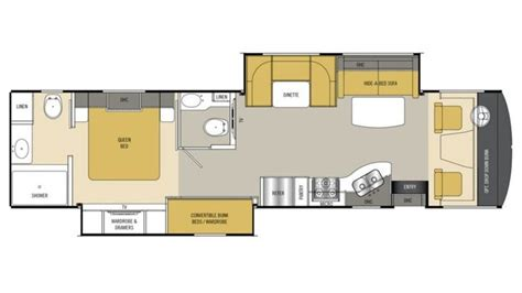 coachmen rv floor plans 2015 coachmen mirada 35 bh photos details brochure floorplan