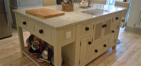 T14 Kitchen Island Unit With Hidden Microwave Cupboard | t14 kitchen island unit with hidden microwave cupboard