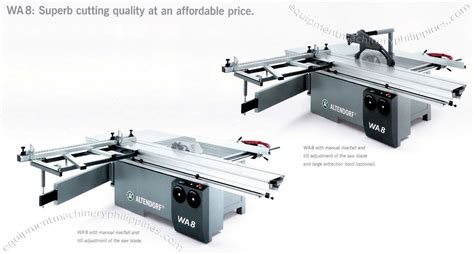 Altendorf Wa 8 Sliding Table Saws Philippines