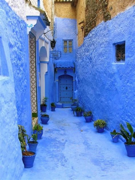 blue city in morocco beauty will save blue city shefshauen beauty will save