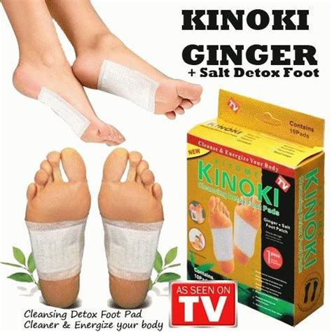 Health Med Foot Detox by Kinoki Cleansing Detox Foot Pads 10pcs Cleanse Energize