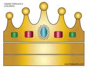 Crown template crown craft printables for kids amp princess crown