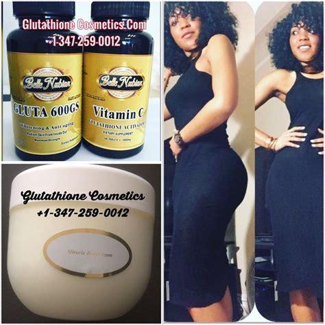 Gluta Glutathione nubian whitening glutathione pills for younger and