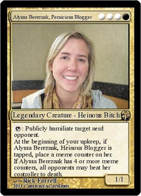 Magic Card Meme - my brief okcupid affair with a world chion magic the