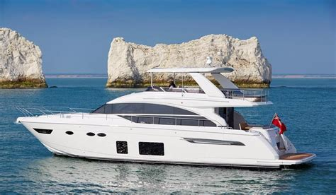 the princess boat 2018 princess 68 motor yacht power boat for sale www