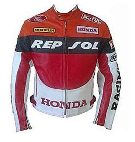 Jaket Black Biker Leather Exklusif Sk 62 honda racing repsol motorcycle leather jacket