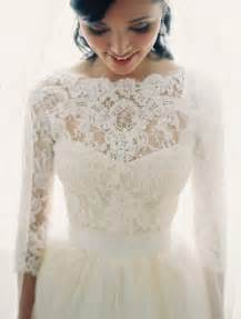 lace dresses to wear to a wedding 30 gorgeous lace sleeve wedding dresses