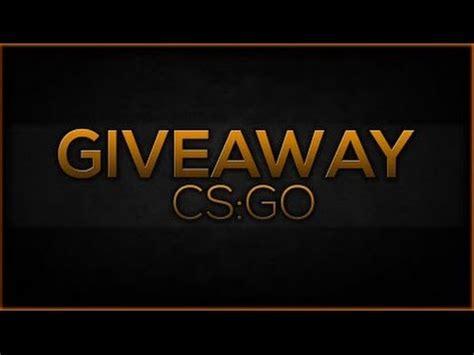 Cs Go Giveaway - giveaway cs go german youtube