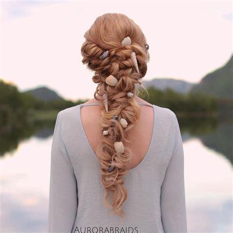 Mermaid Hairstyles by Best 20 Mermaid Hairstyles Ideas On Mermaid