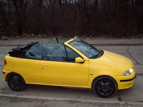 yellow fiat punto yellow cabrio 1997 fiat punto specs photos modification