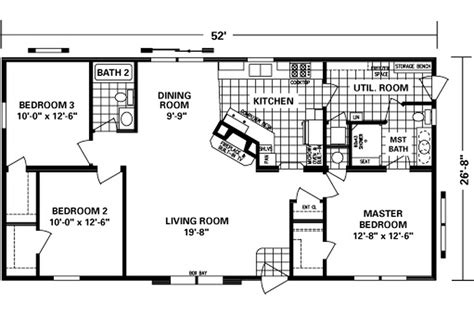 schult floor plans manufactured home floor plan 2009 schult fireside