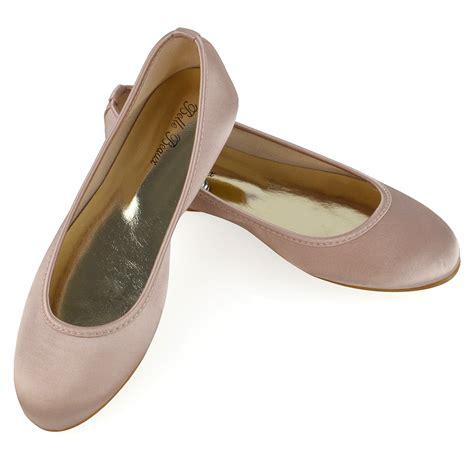 satin flower shoes new womens bridal shoes satin flower wedding