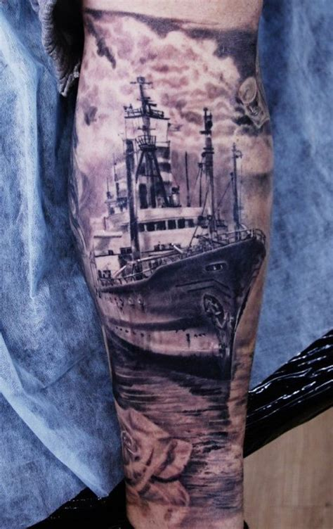 sailboat tattoo ship tattoos