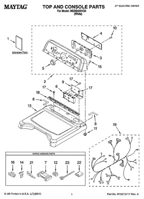 maytag bravos dryer parts diagram i a maytag bravos series 300 model medb400vqo