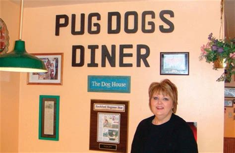 pug dogs diner my other brenda skermont restaurant owner business nails magazine