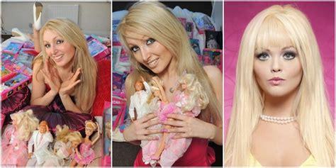 tutorial dandan seperti barbie body and mind foto foto perubahan gadis berwajah boneka