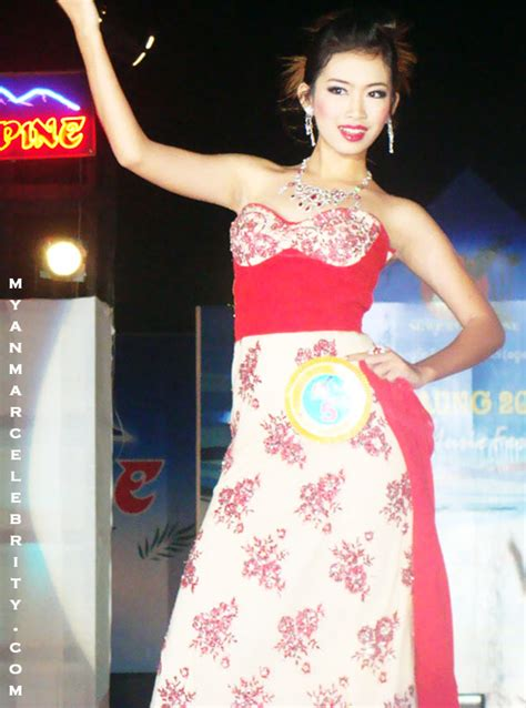 Beautiful Model Competition by Myanmar Beautiful Model Of Miss Ngwe Saung 2010