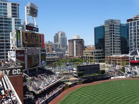 city of san diego section 8 petco park section fi114 row 1 seat 18 san diego ca