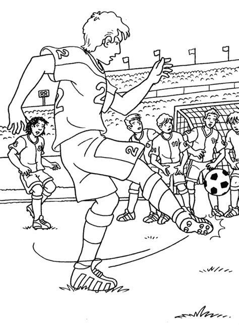 Dididou Coloriage Football Page 4