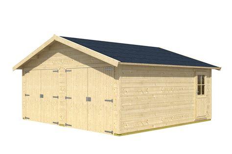 garage kaufen preis garage skanholz 171 visby 187 doppelgarage 28 mm holzgarage
