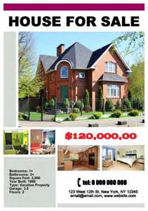 House For Sale Poster Template house for sale poster template how to make a house for