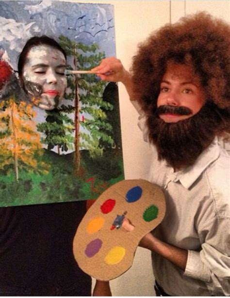 bob ross painting dress costume winner of best s costume bob ross and his